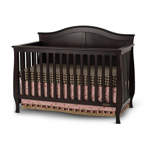 Child Craft Camden 4 in 1 Convertible Crib Jamocha