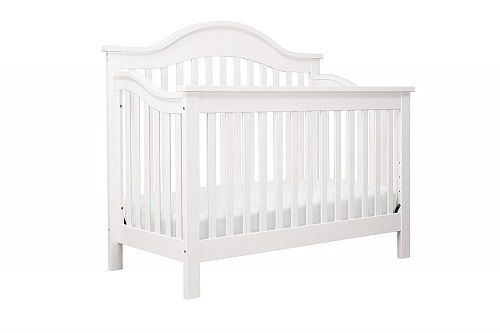 DaVinci Jayden 4 in 1 Convertible Crib White
