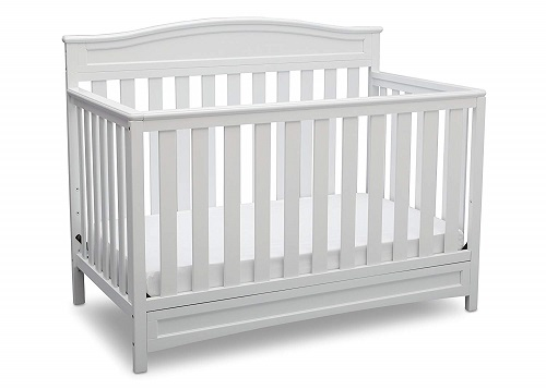 Delta Children Emery 4 in 1 Convertible Crib