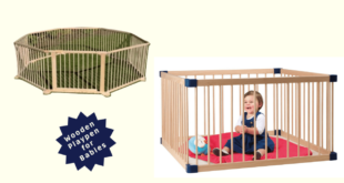 Wooden Playpen for Babies