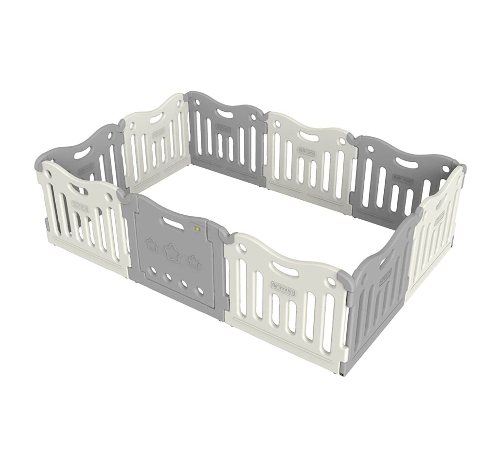 10 Panel Safety Playpen