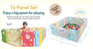 Extra Large Playpen For Toddlers
