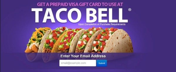 Get a Gift Card to Spend at Taco Bell!